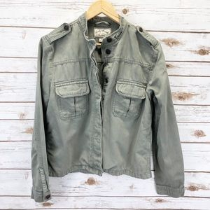 Lucky Brand Green Utility Jacket Sz M ::NN15